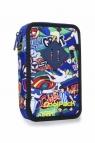 CoolPack - Jumper 2 - Piórnik podwójny z wyposażeniem - Football Carto
