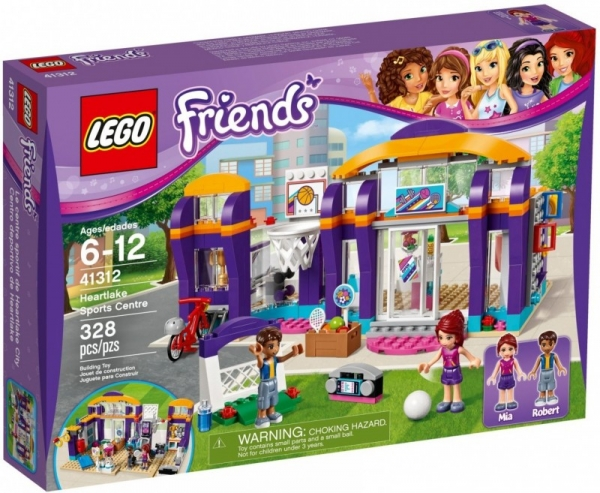 Lego Friends: Centrum sportu w Heartlake (41312)