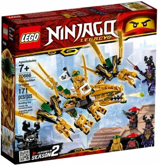 LEGO Ninjago: Złoty Smok (70666)
