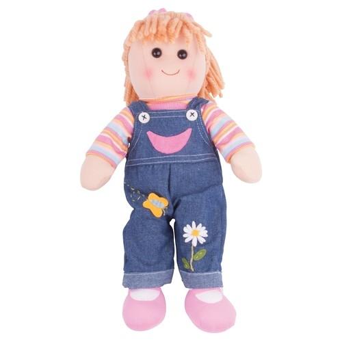 Lalka Penny - Ogrodniczki Dżinsowe