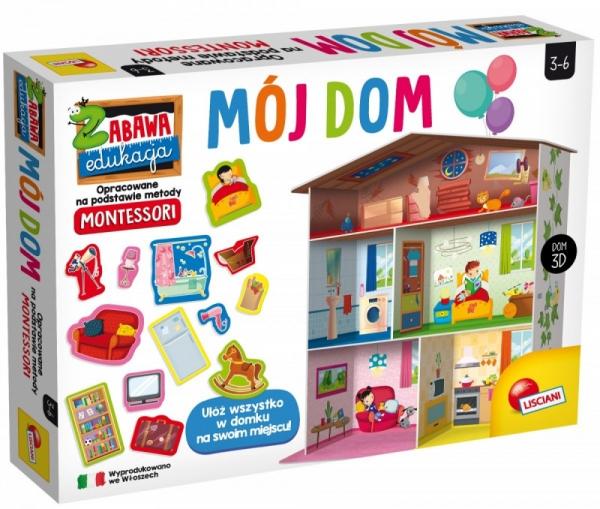 Mój dom - gra edukacyjna (PL72477)
