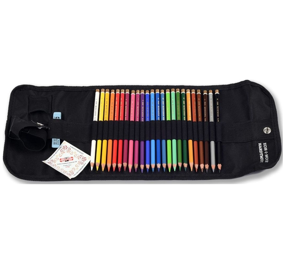 Kredki Polycolor 24 kolory w etui