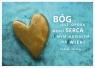 Kartka - Bóg jest opoką mego serca