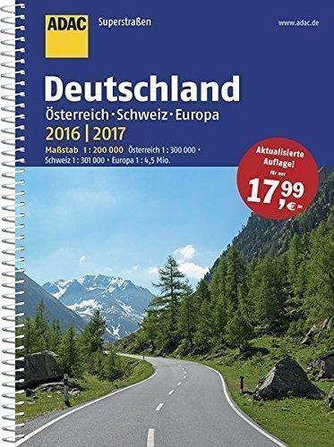 SuperStrassen ADAC. Deutschland 2016/2017 praca zbiorowa