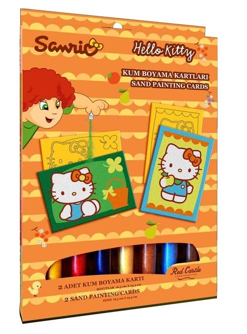 Zestaw do malowania piaskiem Hello Kitty