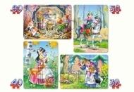 Puzzle x 4 - Królewna Śnieżka CASTOR (04362)