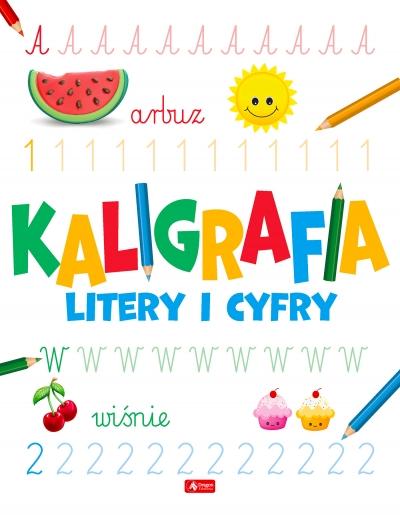 Kaligrafia. Litery i cyfry - książka