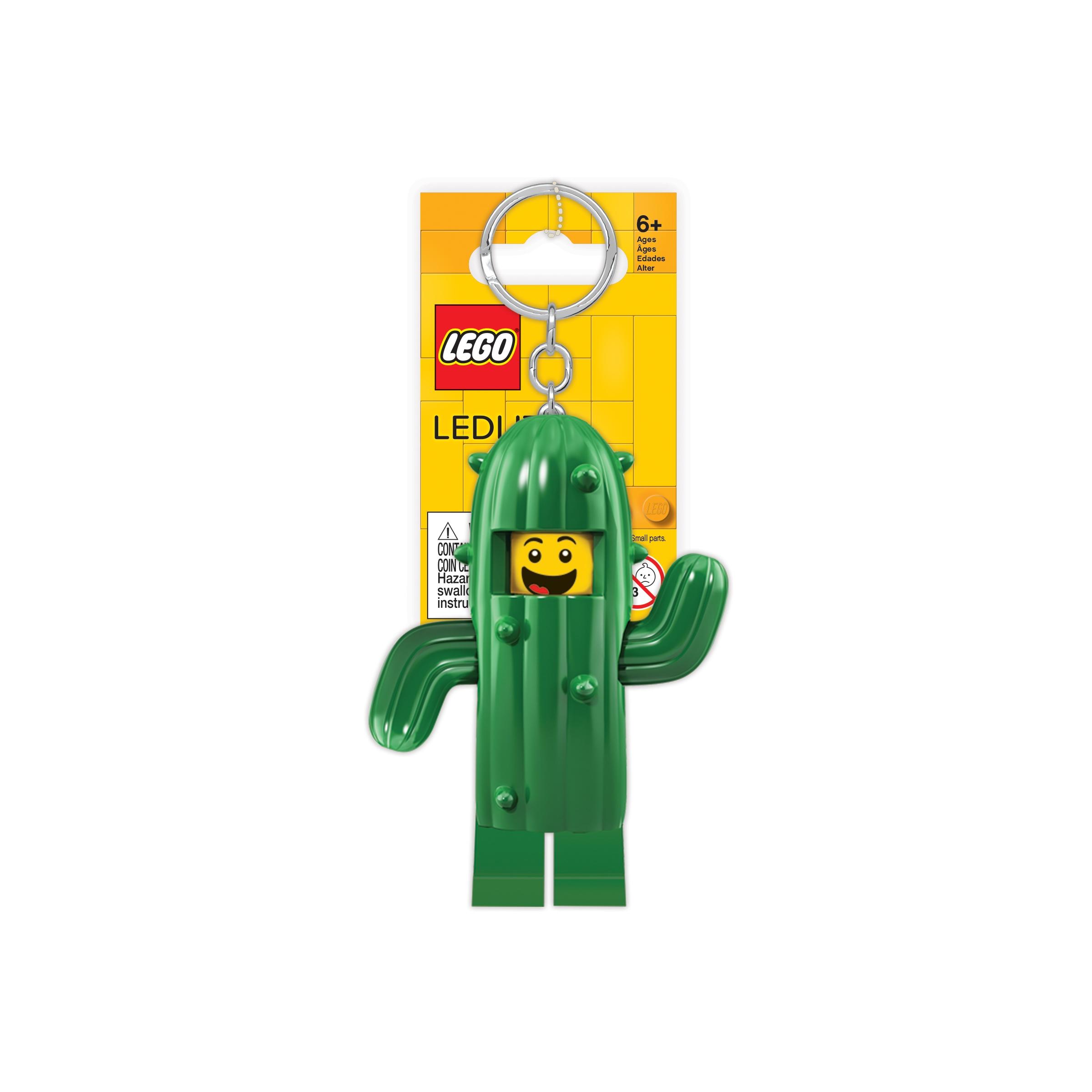 Lego, Brelok do kluczy z latarką - Kaktus (LGL-KE157)