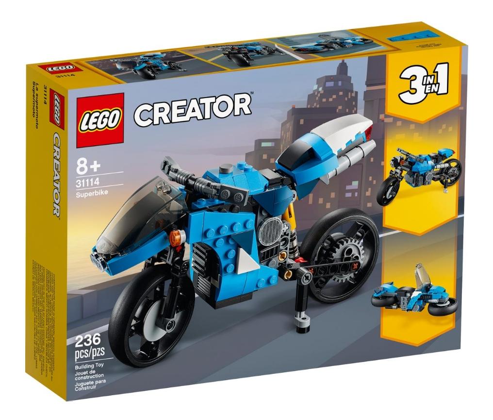 Lego Creator: Supermotocykl (31114)