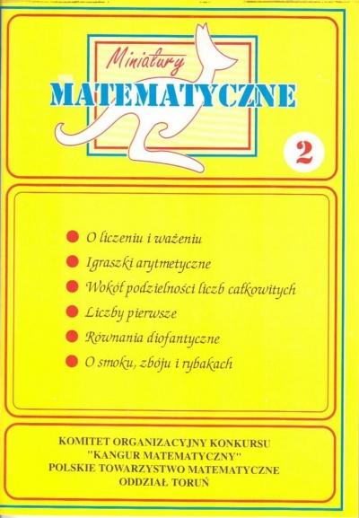 Miniatury matematyczne 2