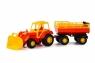 Altaj, traktor z przyczepą Nr2 i łyżką (35363)