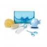 Zestaw akcesoriów do higieny, niebieski (59341)