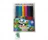 Kredki ołówkowe Astrino dwustronne 12 sztuk = 24 kolory + temperówka
