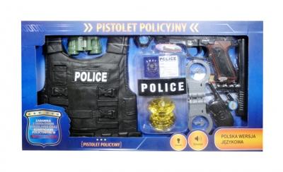 Zestaw policyjny z polskim modułęm głosowym