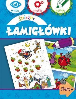 Śnieżne Łamigłówki Anna Wiśniewska