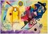 Puzzle 1000 Żółty, czerwony, niebieski, Kandinsky