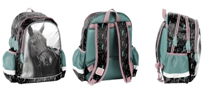 Plecak szkolny Horse PP21KE-081 PASO