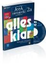 Alles klar 2A Podręcznik z ćwiczeniami + CD Zakres rozszerzony Kurs dla kontynuujących naukę