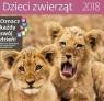Kalendarz 2018 30x30 Dzieci Zwierząt HELMA