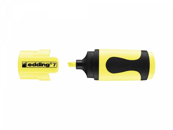 Textmarker Edding mini zakreślacz - pastelowo-żółty (7/10S/135 ED)