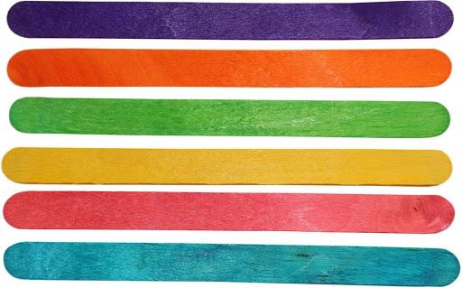 Dekoracje drewniane patyczki (307947)