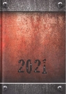 Kalendarz 2021 Dzienny A5 Soft Stal