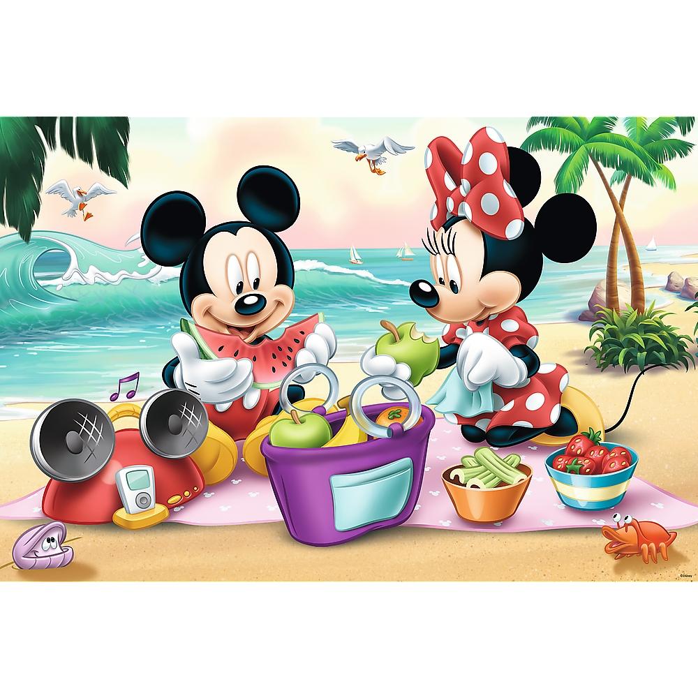 Puzzle Maxi 24: Piknik na plaży (14236)