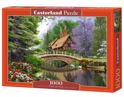 Puzzle River Cottage 1000 (102365-1)