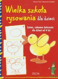 Wielka szkoła rysowania dla dzieci Turk Hanne, Pradella Rosanna