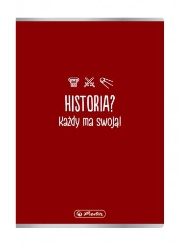 Zeszyt A5/60k kratka - Historia (9577362)