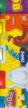 Play-Doh Ciastolina 4 tuby + 2 tuby gratis (23565)