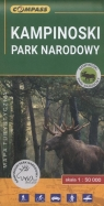 Kampinoski Park Narodowy Mapa turystyczna 1:50 000