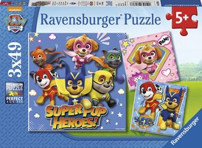 Puzzle 3w1 3x49: Psi Patrol (080366)