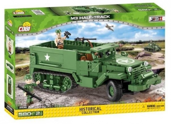 Klocki M3 Half - Track /Armored Personal Carrier (2536)