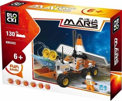 Klocki Blocki: Misja Mars Łazik Marsjański 130 elementów (KB0302)