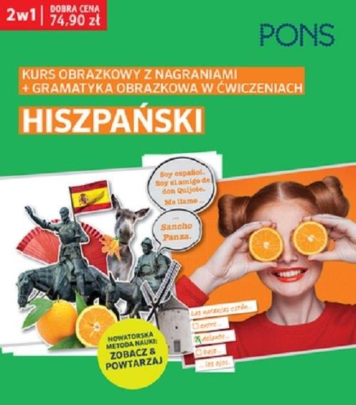 Obrazkowy hiszpański kurs i gramatyka w ćwiczeniach PAK2