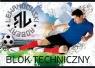 Blok techniczny A4 10k Robert Lewandowski