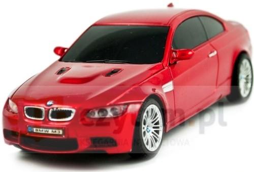 BMW M3 zdalnie sterowane skala 1:28 czerwone