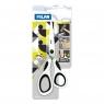 Nożyczki Milan biurowe 20,5 cm biało-czarne