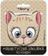 Zakładka magnetyczna - Kotek