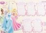 Plan lekcji z magnesem Princess
