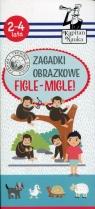 Kapitan Nauka Zagadki obrazkow Figle-migle 2-4 lata