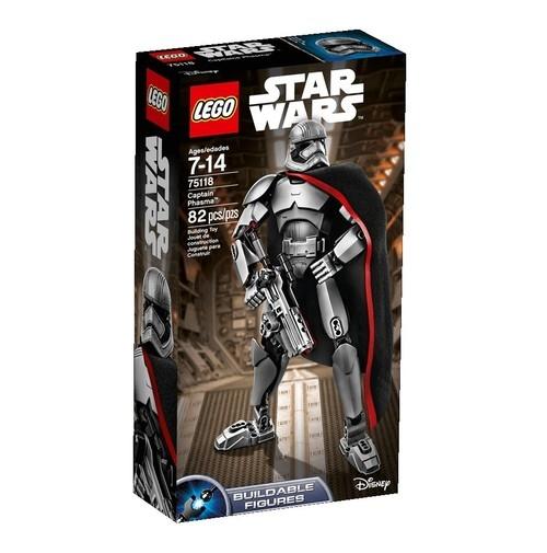 Lego Star Wars Kapitan Phasma (75118)