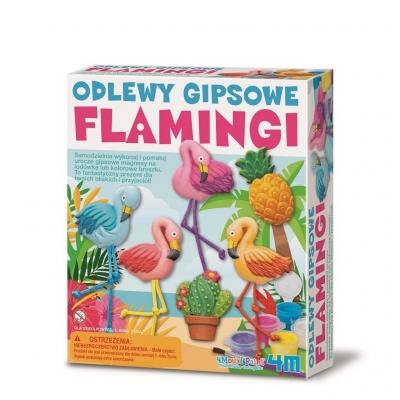 Odlewy gipsowe Flamingi