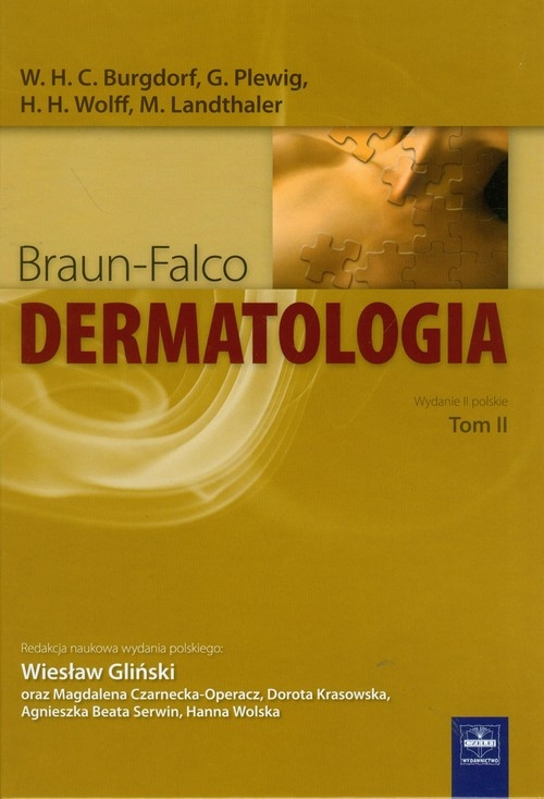Dermatologia Braun-Falco tom 2
