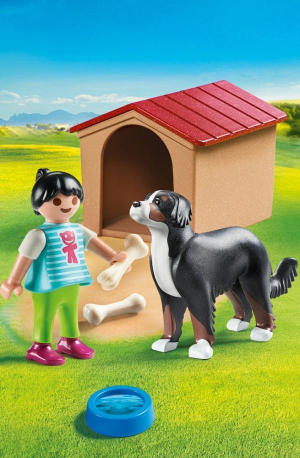 Playmobil: Pies z budą (70136)