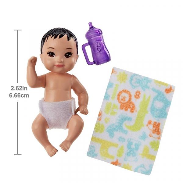 Barbie Skipper: Lalka niemowlak z akcesoriami (FHY76/FHY77)