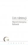 List z detencji Borkowski Wojciech Hieronymus
