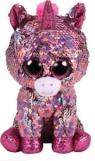 Maskotka Beanie Boos TY Flippables: Sparkle - cekinowy jednorożec 24 cm