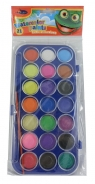 Farbki akwarelowe Rexus 21 kolorów Żabka